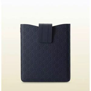 Gucci iPad case navy blue